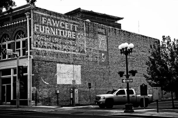Photograph - Fawcett Furniture Wall Sign by Andy Crawford