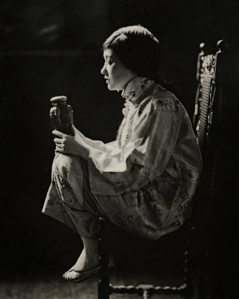 Photograph - Fay Bainter On Stage by James Abbe