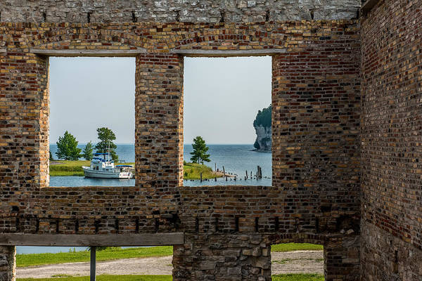 One Of A Kind Photograph - Fayette Ruins by Paul Freidlund
