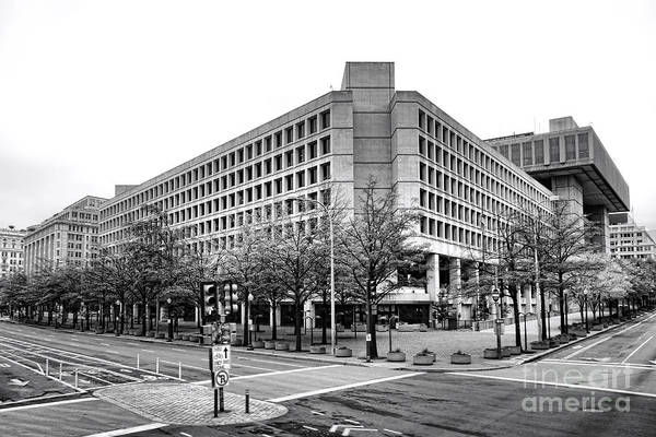 Wall Art - Photograph - Fbi Building Front View by Olivier Le Queinec
