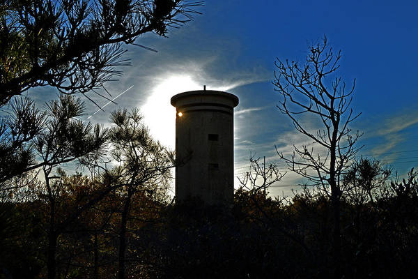 Photograph - Fct1 Fire Control Tower 1 Winks In Sunlight by Bill Swartwout Photography