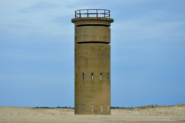 Photograph - Fct5 Fire Control Tower Solitary Sentinel by Bill Swartwout Photography