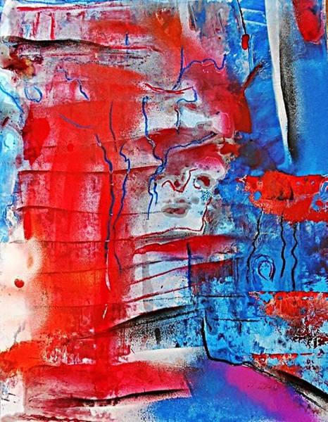 Post-it Painting - Fd348 by Ulrich De Balbian