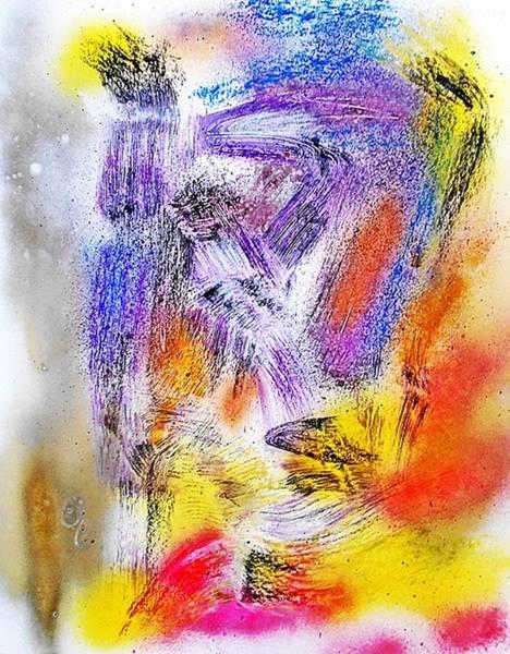 Post-it Painting - Fd586 by Ulrich De Balbian
