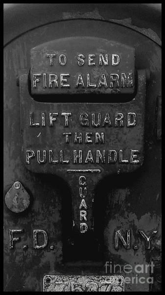 Fdny Photograph - Fdny - Alarm by James Aiken
