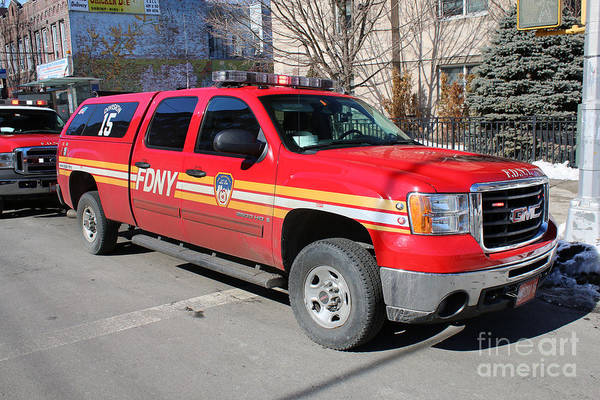 Photograph - Fdny Division 15 by Steven Spak