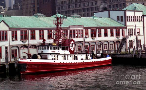 Photograph - Fdny Fireboat John D. Mckean by Steven Spak