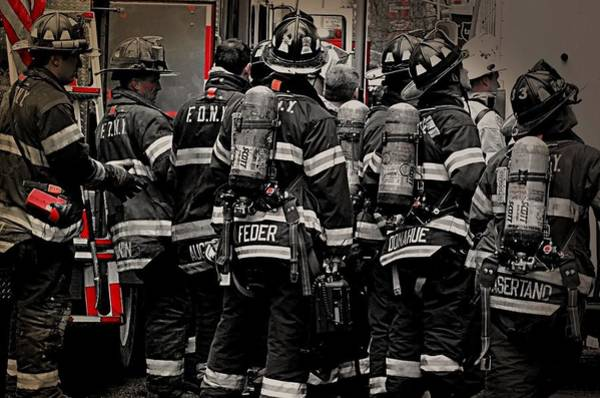 Fdny Photograph - Fdny by Jessica Stiles