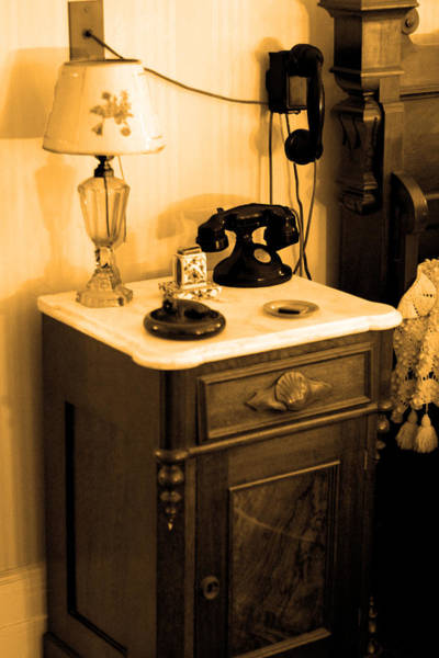 Wall Art - Photograph - Fdr's Nightstand by Frank Savarese