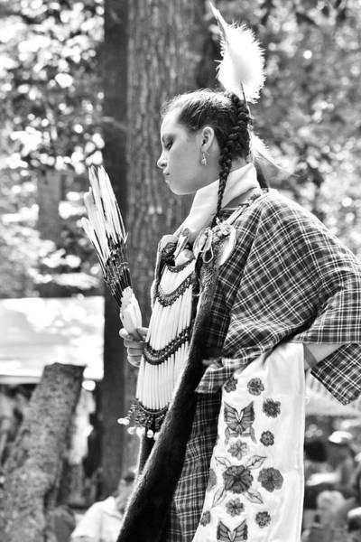 Photograph - Feather Dance - Nanticoke Powwow by Kim Bemis
