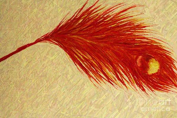 Painting - Feather by Melinda Etzold