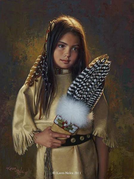 Digital Art - Feathers And Light by Karen Noles