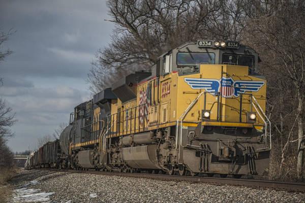 Subdivision Photograph - February 27. 2015 - Csx Q515-26 by Jim Pearson