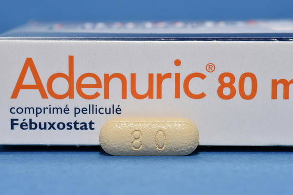 Package Wall Art - Photograph - Febuxostat Gout Drug by Dr P. Marazzi/science Photo Library