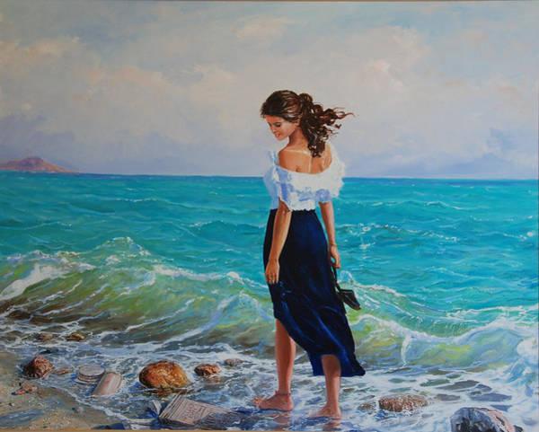 Painting - Fedio Eimi by Sefedin Stafa