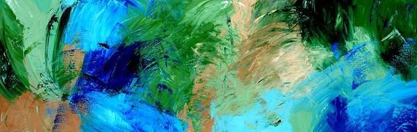 Feel The Tropical Breeze Art Print
