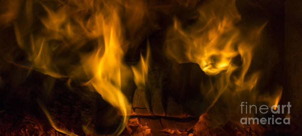 Photograph - Feel The Warmth From The Flames by Clare Bambers