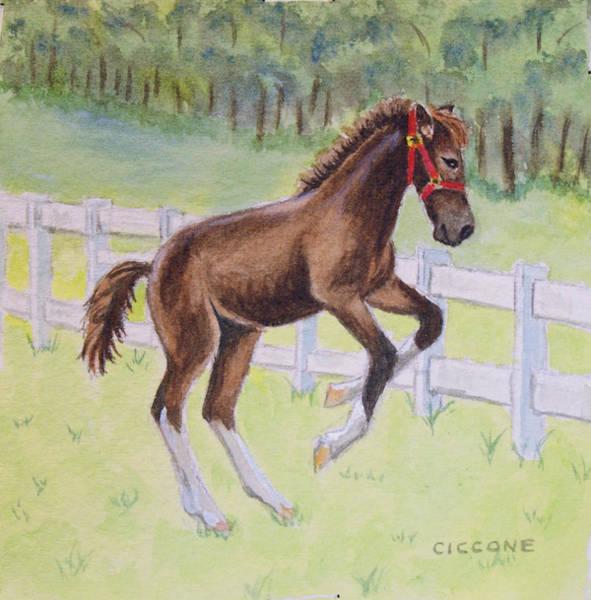 Painting - Feelin' Frisky by Jill Ciccone Pike