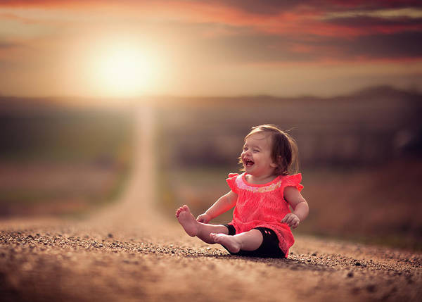 Laughs Wall Art - Photograph - Feelin Good by Jake Olson