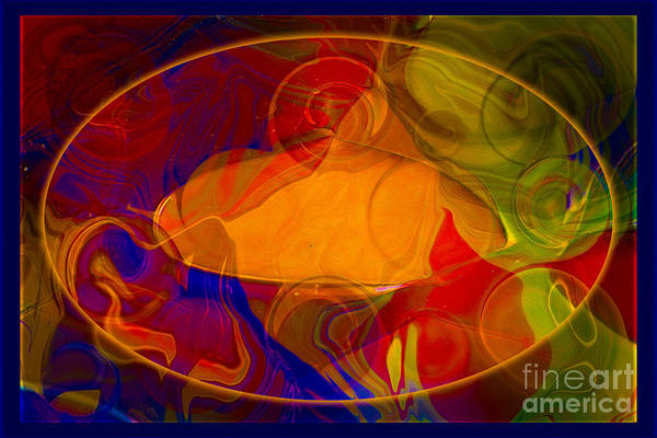 Digital Art - Feeling At Home With Uncertainty Abstract Healing Art by Omaste Witkowski