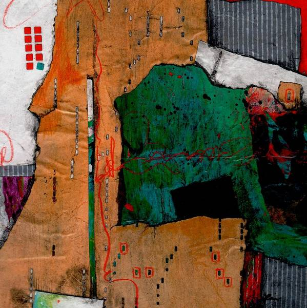 Graphic Mixed Media - Feeling Change Coming On.  by Laura  Lein-Svencner