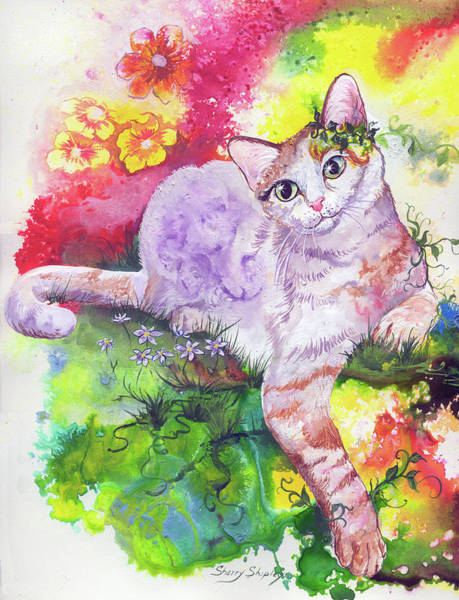 Painting - Feeling Groovy by Sherry Shipley