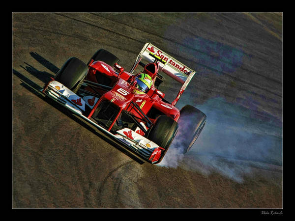 Photograph - Felipe Massa by Blake Richards