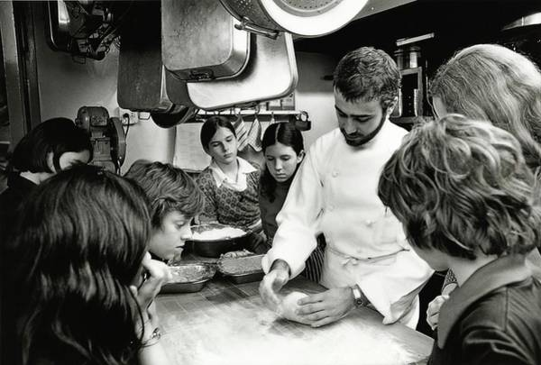 Little People Photograph - Felipe Rojas-lombardi Teaching Children To Cook by Frances McLaughlin-Gill