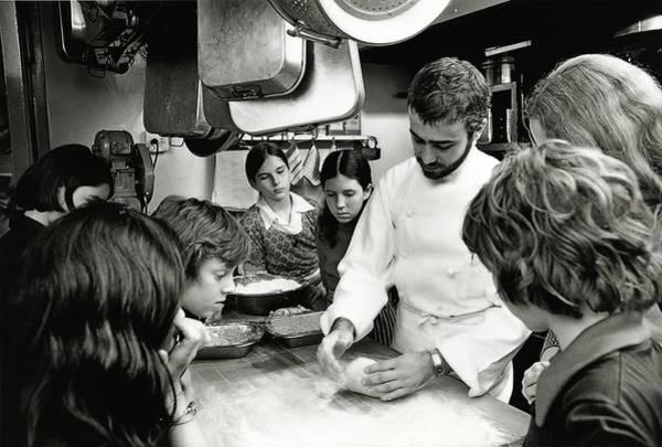 Wall Art - Photograph - Felipe Rojas-lombardi Teaching Children To Cook by Frances McLaughlin-Gill