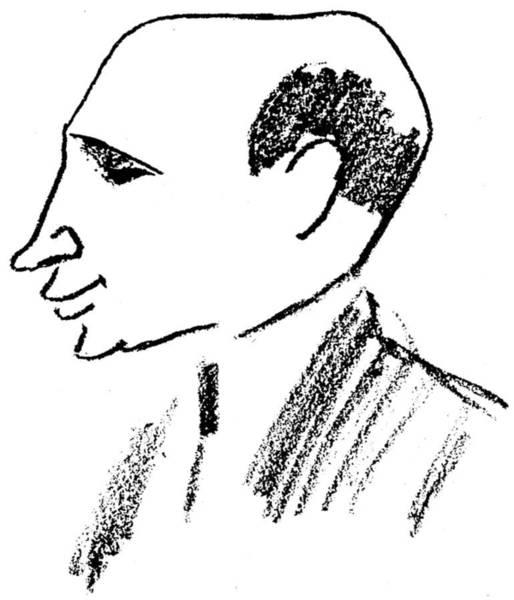 1924 Drawing - Felix Deutsch (1884-1964) by Granger