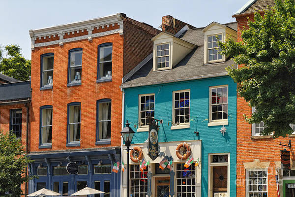 Patapsco Photograph - Fells Point Impression II by George Oze