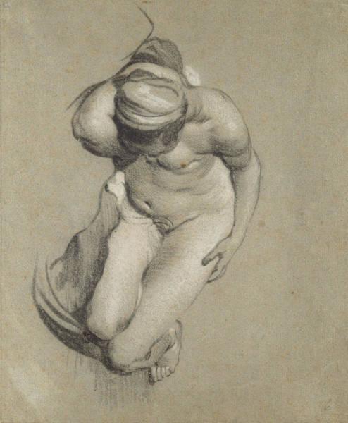 Beautiful Girl Drawing - Female Nude  by Jacob Adriensz Backer