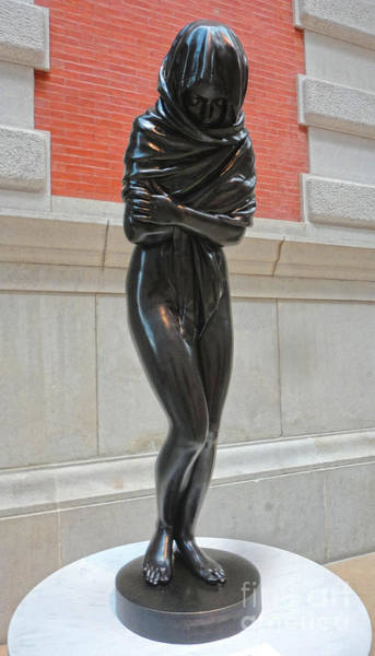 Photograph - Female Scultpure Metropolitan Museum Of Art by Gregory Dyer