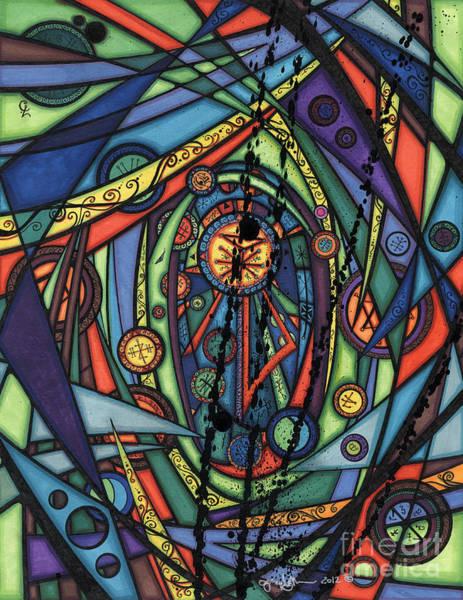 Drawing - Female Spirituality  by Joey Gonzalez