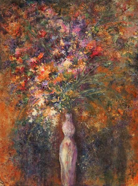 Potential Painting - Feminine Vessel by Melinda DeMent