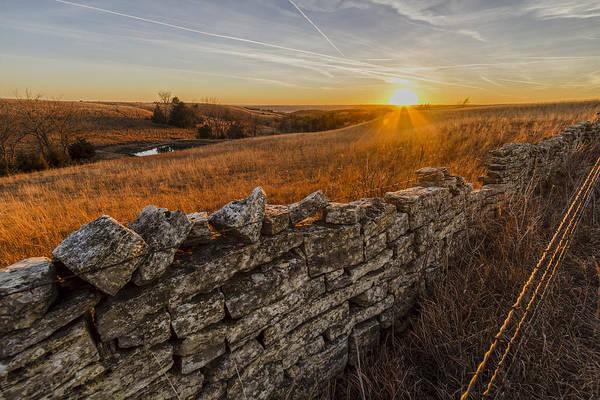 Photograph - Fences by Scott Bean