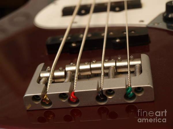 Photograph - Fender Bass Guitar - 1 by Vivian Martin
