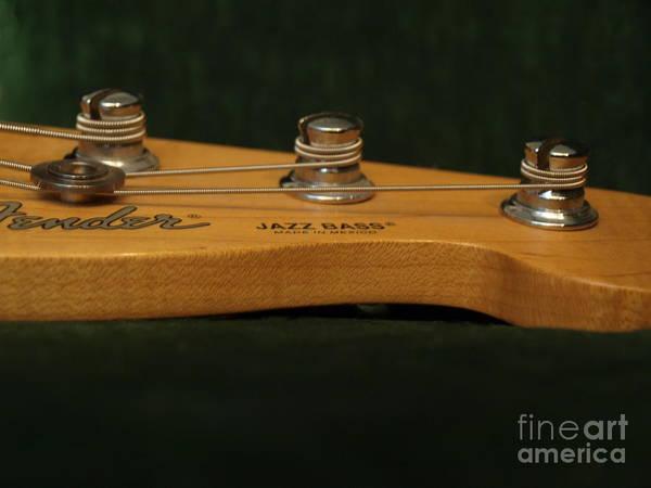 Photograph - Fender Bass Guitar - 2 by Vivian Martin