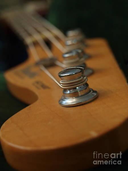 Photograph - Fender Bass Guitar - 3 by Vivian Martin