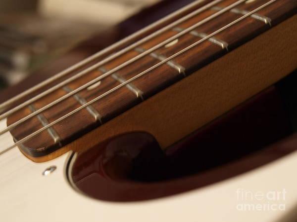 Photograph - Fender Bass Guitar - 5 by Vivian Martin