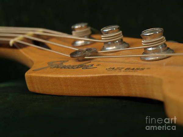 Photograph - Fender Bass Guitar - 6 by Vivian Martin