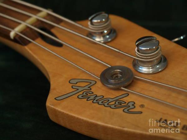 Photograph - Fender Bass Guitar - 8 by Vivian Martin