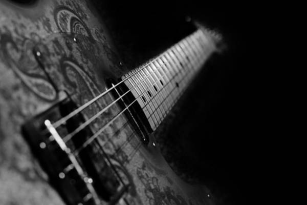 Wall Art - Photograph - Fender In Paisley by Mark Rogan