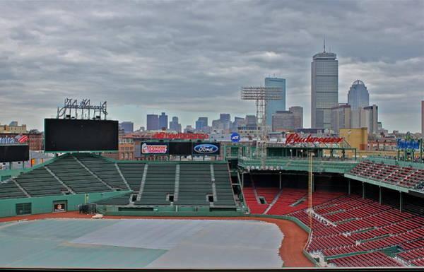 Photograph - Fenway Park Boston by Amazing Jules