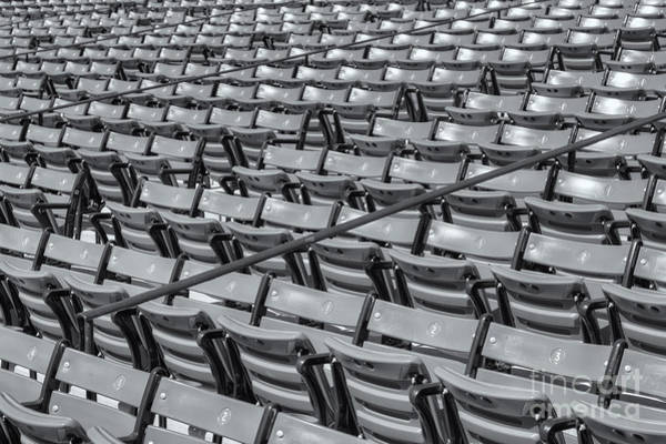Photograph - Fenway Park Grandstand Seats II by Clarence Holmes
