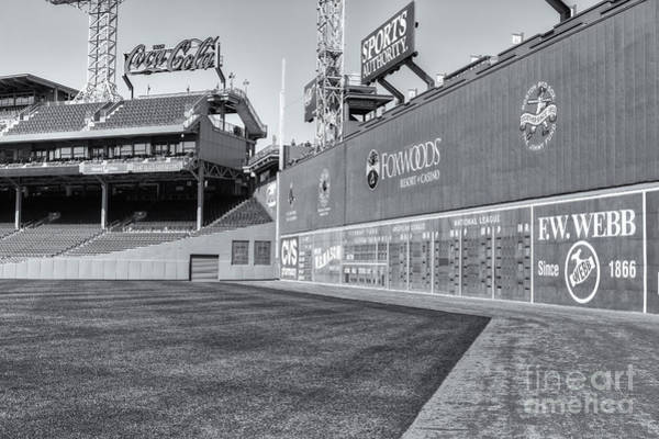 Photograph - Fenway Park Green Monster II by Clarence Holmes