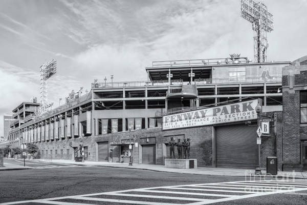 Photograph - Fenway Park Iv by Clarence Holmes