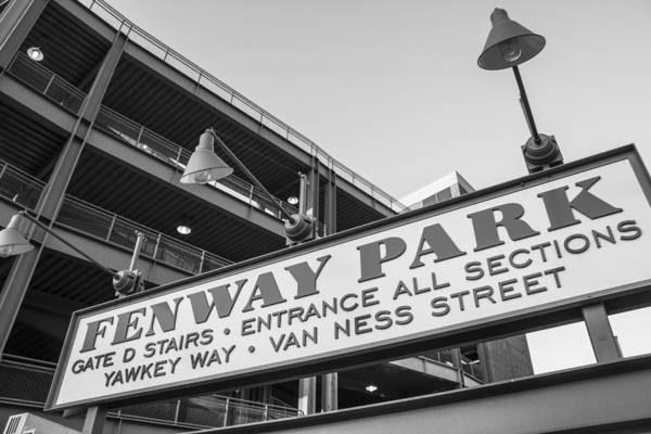 Fenway Park Sign Art Print