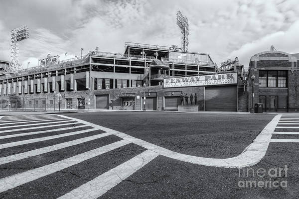 Photograph - Fenway Park V by Clarence Holmes