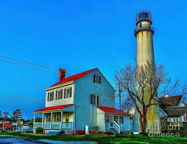 Photograph - Fenwick Island Lighthouse by Nick Zelinsky